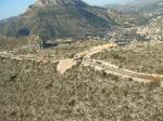 Paragliding Fluggebiet Europa Spanien Valencia,Morro de Toix,Startplatz Belvedere