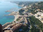 Paragliding Fluggebiet Europa » Spanien » Valencia,Morro de Toix,Der Landeplatz am Strand.