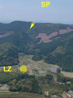 Paragliding Fluggebiet Asien » Japan,Uono Flight Area,Overview