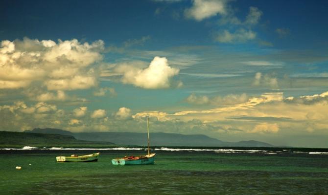 Pilon - Blick auf's Meer