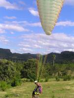 Paragliding Fluggebiet Nordamerika » Kuba » Granma,Granma, Guisa - Corralillo,Der Adler ist gelandet!