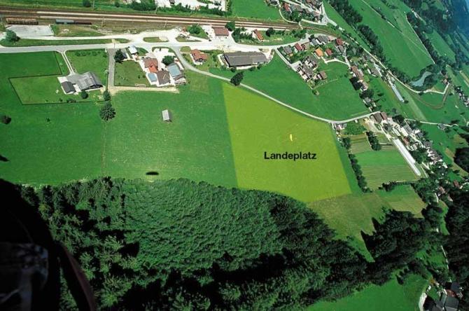 LP von oben - Thx. to Sky Club Austria