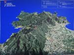 Paragliding Fluggebiet Europa » Spanien » Katalonien,Sant  Pere de Roda,Panoramakarte des Fluggebiets