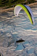 Paragliding Fluggebiet ,,Pamukkale  mit freundlicher Genehmigung: www.azoom.ch