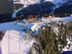 Paragliding Fluggebiet Europa » Italien » Trentino-Südtirol,Piz La Villa,Startplatz Piz La Villa auf der Skipiste (nur nach Goldel-Schluß erlaubt).