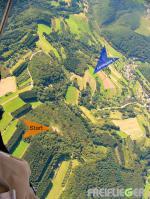 Paragliding Fluggebiet Europa » Deutschland » Rheinland-Pfalz,Arzbach (Grosser Kopf Westerwald)W-NW,