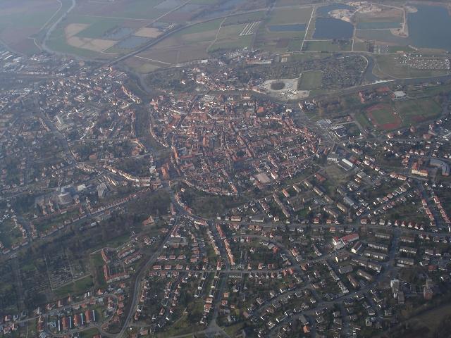 Meine Heimatstadt Eschwege aus ca. 1200nn.