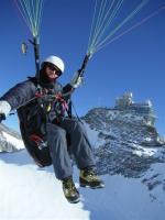 Paragliding Fluggebiet ,,jungfraujoch sphinx