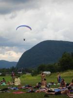 Paragliding Fluggebiet Europa » Slowenien,Vogar,Landeplatz direkt beim Strand