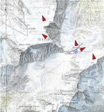Paragliding Fluggebiet Europa » Schweiz » Obwalden,Titlis, alpiner Startplatz,Karte 1:25.000 Blatt Meiental 1211