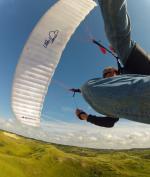 Paragliding Fluggebiet Europa » Niederlande,Wijk aan Zee,LittleCloud SpirulineIII an der Düne Wijk aan Zee Touren: http://www.freiflieger.eu/Niederlande.143.0.html