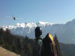 Paragliding Fluggebiet Europa » Italien » Trentino-Südtirol,Vetriolo - Monte Panarotta,Augen auf beim (Luft)-Verkehr!