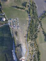 Paragliding Fluggebiet Europa » Frankreich » Provence-Alpes-Côte d Azur,St Vincent Les Forts,Start-, Lande- und Parkplatz: alles an einem Ort