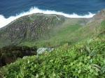 Paragliding Fluggebiet Europa » Portugal » Madeira,Ponta do Pargo,die ehemalige Landwirtschaft von Achadas da Cruz im Nordwesten Madeiras, auf dem Weg zur Seilbahnstation läßt sich gut landen, mit Gegenwind natürlich noch besser, am besten direkt am Eingang, dort läßt der Schirm sich leichter packen