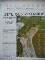 Paragliding Fluggebiet ,,Tafel am SP mit Erklärungen zum LP und einigen nützlichen Telefonnummern!