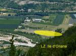 Paragliding Fluggebiet Europa » Frankreich » Provence-Alpes-Côte d Azur,Montagne De Chabre,LZ Ile d'Oriane (Nord Seite)