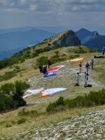 Paragliding Fluggebiet Europa » Frankreich » Provence-Alpes-Côte d Azur,Montagne De Chabre,Süd Start am Gipfel
