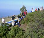 Paragliding Fluggebiet Europa » Spanien » Kanarische Inseln,La Palma - Torre del Time (Feuerturm),Blick Richtung Norden