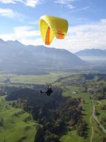 Paragliding Fluggebiet Europa » Österreich » Vorarlberg,Schnifnerberg,21.10.05 Anflug Schnifis Ried.