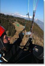 Paragliding Fluggebiet Europa » Schweiz » Tessin,Mornera,Hier noch ein tolles Bild aus der Luft vom kleinen Startplatz   c'Bild:High-Adventure.ch
