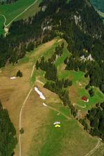 Paragliding Fluggebiet Europa » Schweiz » Nidwalden,Wirzweli - Gummen,Startplatz Gumen