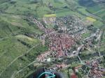 Paragliding Fluggebiet Europa » Deutschland » Rheinland-Pfalz,Odernheim Weilerkopf  W NW N,Flug über Odernheim  Foto Fritz Altrichter