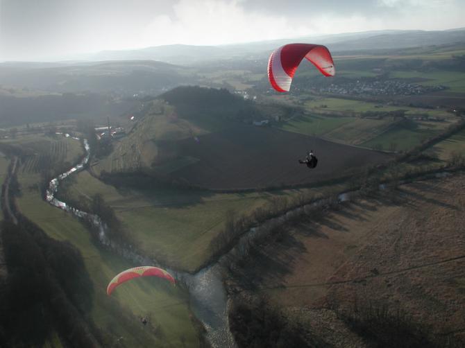 Flug über Nahe und Glan. Foto Fritz Altrichter