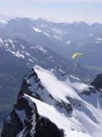 Paragliding Fluggebiet Europa » Schweiz » St. Gallen,Alp Schrina,Soaren an/ über den Churfirsten - schon früh im Jahr...
