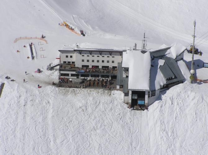 Berghotel Seegrube (ca. 100m westlich befindet sich der Startplatz)