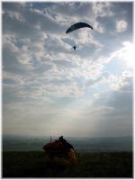 Paragliding Fluggebiet Europa » Deutschland » Bayern,Schrattenbach( (Allgäuer Tor),Abendstimmung an der Kannte