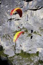 Paragliding Fluggebiet Europa » Schweiz » Bern,Schilthorn (Piz Gloria),Mit freundlicher Genehmigung von: www.azoom.ch