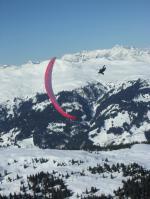 Paragliding Fluggebiet Europa » Schweiz » Graubünden,Arosa - Weisshorn,Akro mit Oli W.
