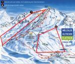 Paragliding Fluggebiet Europa » Österreich » Kärnten,Mölltaler Gletscher,Karte zum Gebiet