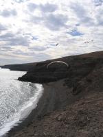 Paragliding Fluggebiet Europa » Spanien » Kanarische Inseln,Lanzarote - Playa Quemada,