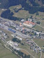 Paragliding Fluggebiet Europa » Schweiz » Graubünden,Disentis Caischavedra - Lai Alv - Plaun Tir,Das Kloster von Disentis, nicht nur aus der Luft einen Besuch wert...