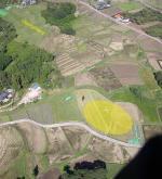 "Paragliding Fluggebiet Asien » Japan,Airpark COO (Ibaraki),LZ mit ""Faltplatz"""