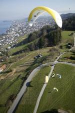 Paragliding Fluggebiet Europa » Schweiz » Zürich,Oberrieden,mit freundlicher Genehmigung ©www.azoom.ch