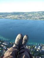 Paragliding Fluggebiet Europa » Schweiz » Zürich,Oberrieden,Blick über den See