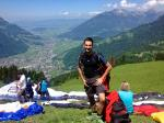 Paragliding Fluggebiet Europa » Schweiz » Glarus,Wiggis - Rautispitz,Startplatz Froni