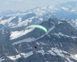 Paragliding Fluggebiet Europa » Schweiz » Appenzell Innerrhoden,Kronberg,Flug Richtung Säntis...