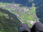 Paragliding Fluggebiet Europa » Österreich » Tirol,Finkenberg-Mayrhofen-Hippach,Anflug auf Mayerhofen Mai 2007