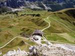 Paragliding Fluggebiet Europa » Italien » Trentino-Südtirol,Piz La Villa,Viele Startmöglichkeiten in unmittelbarer Nähe der Station, je nach Windsiutation