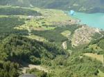 Paragliding Fluggebiet Europa » Schweiz » Bern,Gummen - Gummeralp,Sicht auf Brienz...