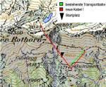 Paragliding Fluggebiet Europa » Schweiz » Bern,Gummen - Gummeralp,Kabel über dem Startplatz!! Siehe auch Photo  ©www.FLOB.ch