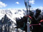 Paragliding Fluggebiet Asien » Kirgistan,Karakol,Kein idealer Platz zum Aussenlanden Fotograf: Maurice & Lisa Knur