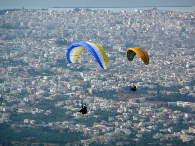 Panoramaflug in Patras