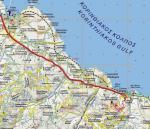 Paragliding Fluggebiet ,,Anfahrtsplan