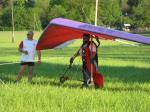 Paragliding Fluggebiet Europa » Deutschland » Brandenburg,Marienheim,Thomas startet Thomas