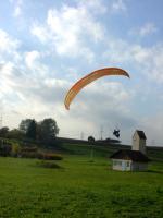 Paragliding Fluggebiet Europa » Deutschland » Baden-Württemberg,Kleinheppacher Kopf / Oberer Greiner,Landplatz