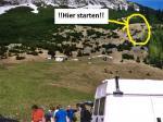 Paragliding Fluggebiet Europa » Österreich » Tirol,Hinterhornalm,Startplatz Paragleiter